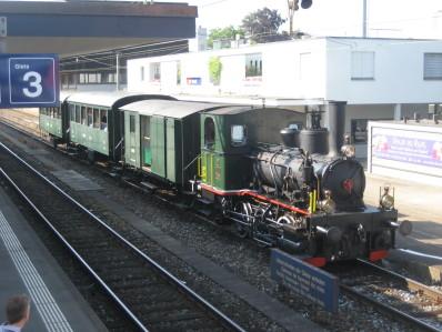 Der D 403 unterwegs in Thalwil, Foto René Koch